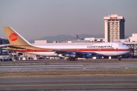 Photo: Continental Airlines, Boeing 747-100, N606PE