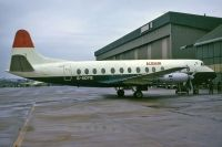 Photo: Alidair, Vickers Viscount 800, G-AOYG