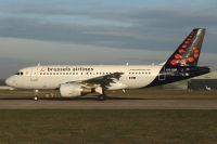 Photo: Brussels Airlines, Airbus A319, OO-SSF