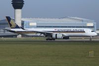 Photo: Singapore Airlines, Airbus A350, 9V-SMB