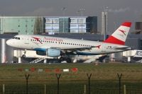 Photo: Austrian Airlines, Airbus A319, OE-LDD