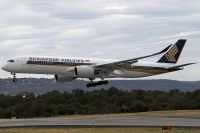 Photo: Singapore Airlines, Airbus A350, 9V-SHA